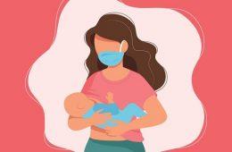 شیردهی و کرونا ویروس - ماسک - تغذیه با شیر مادر - سیستم ایمنی کودک