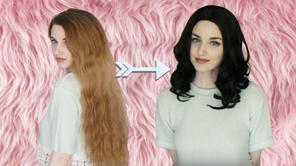 روشی بسیار کارآمد در استفاده از کلاه گیس با داشتن موهای طبیعی بلند